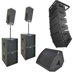 aktiva passiva högtalare