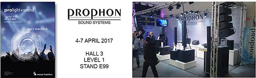 prophon prolight sound 2017